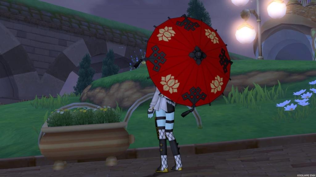 番傘うしろ